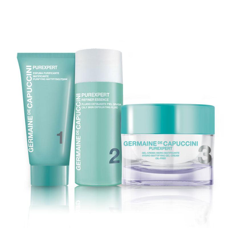 Germaine De Capuccini - Purexpert 1-2-3 Oily Skin - Travel Kit - Culture  Club Beauty